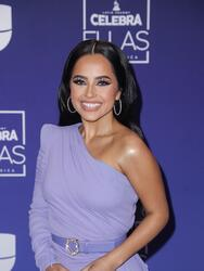 HOLLYWOOD, FLORIDA - MAY 09: Becky G attends the Latin GRAMMY Celebra Ellas y Su Musica Show on May 09, 2021 in Hollywood, Florida. (Photo by John Parra/Getty Images for The Latin Recording Academy)