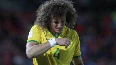 David Luiz no jugará con Brasil ante Venezuela por lesión
