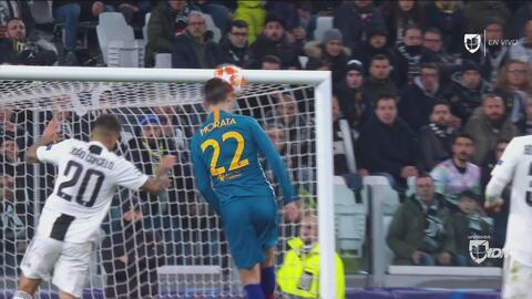 Morata se quedó muy cerca de 'matar' a la Juve