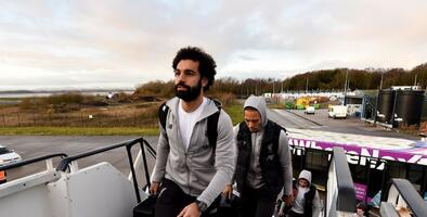 Liverpool aterriza en Qatar con todo su arsenal