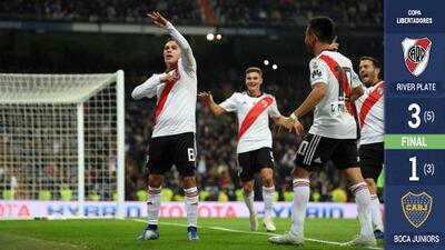 Quintero se transfiguró en Zidane: ¡River Plate alza la Libertadores en el Bernabéu!