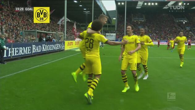 ¡Impresionante golazo de volea de Axel Witsel para abrir el marcador!