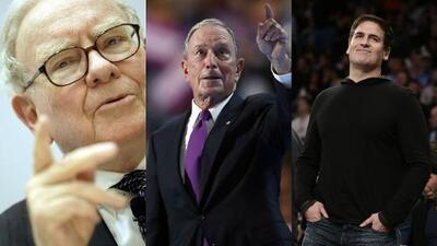 Los tres multimillonarios que coquetean con la campaña de Hillary Clinton