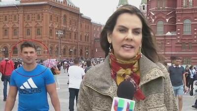 Periodista de Univision, acosada durante la cobertura del Mundial en Rusia