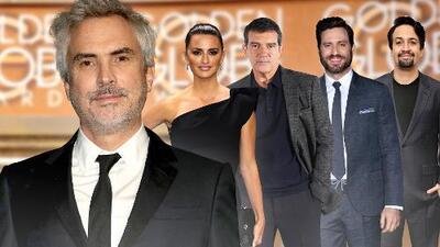 Alfonso Cuarón lidera la presencia hispana en los Globos de Oro con tres nominaciones para su cinta 'Roma'