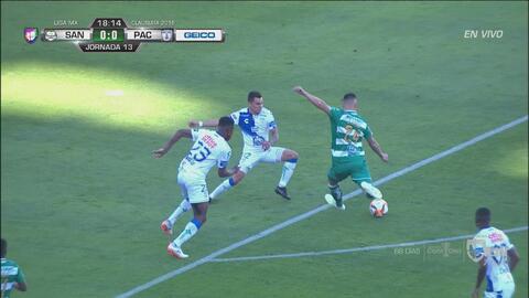 Santos se perdió un golazo de Correa para abrir el marcador