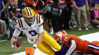 Louisiana State captura su cuarto título nacional al ganar a Clemson