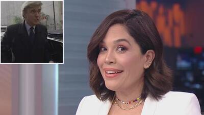 Karla Martínez reacciona sorprendida al saber que Trump habría perdido casi 1,200 millones de dólares en una década