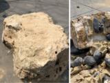 """""""Narcorocas"""": decomisan cerca de $4 millones en droga dentro de gigantescas rocas provenientes de México"""
