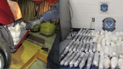Autoridades fronterizas de Arizona incautan más de 275 mil dólares en drogas
