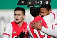 Edson Álvarez participa en triunfo del Ajax sobre el Fortuna Sittard