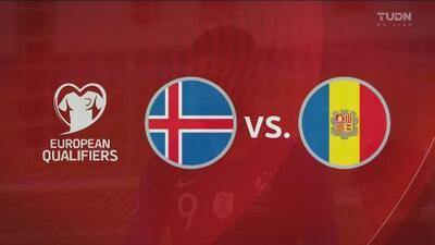 Islandia 2-0 Andorra - Resumen y goles