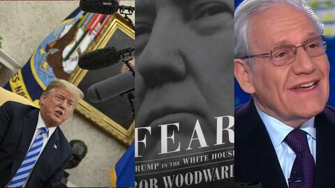 El presidente tiene 'Miedo', sus asesores deben cuidarlo de él mismo, dice escritor