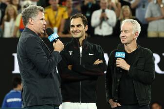 Roger Federer y otros favoritos brillan en Australian Open y tienen tiempo de divertirse