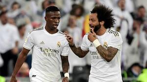 """Marcelo a Vinicius en la eliminación del Madrid: """"No la cagues"""""""