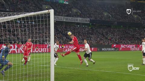 La máquina de goles del Eintracht Luka Jovic hizo el primero: Serbia 1-0 Alemania