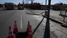 Autoridades de Frisco combaten una fuga de gas que ha provocado evacuaciones