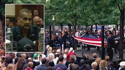 Despiden con tristeza al oficial hispano convertido en héroe por su labor del 9/11 y quien murió de cáncer