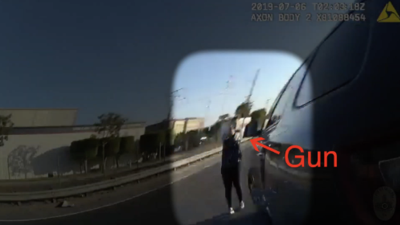 Revelan video de cámara corporal de un agente de Fullerton que le disparó a un joven de 17 años