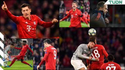 Lewandowski se luce y lleva a su equipo a octavos en la Champions League