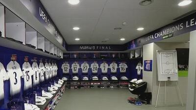 Los lujosos camerinos del Liverpool y el Tottenham en el Wanda Metropolitano