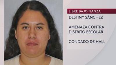 Arrestan a hispana que presuntamente amenazó a distrito escolar de Georgia
