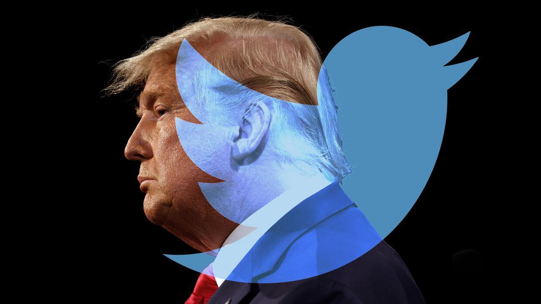'Twitter permite hasta a los talibanes': el argumento de Trump para recuperar su cuenta