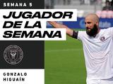 Tras marcar dos tantos, Gonzalo Higuaín es Jugador de la Semana