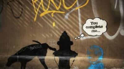 Venden mural de grafitero Banksy en una subasta en Miami por 575.000 dólares