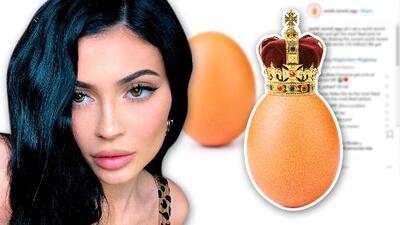 Kylie Jenner pierde su reinado en Instagram: un huevo la supera y ella reacciona 🤦♀️