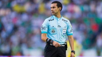 César Ramos será el único árbitro central mexicano en el Mundial de Rusia