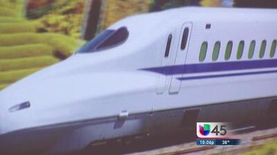 Rechazan tren bala de Houston a Dallas