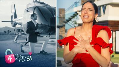 Foto a foto: la espectacular propuesta de matrimonio a Aleyda Ortiz