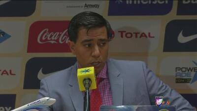 Cesar Farías: 'El final del partido fue caliente, se encontraron con un gol al final'