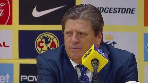 El 'Piojo' Herrera destacó la actitud de América para sobreponerse a las adversidades