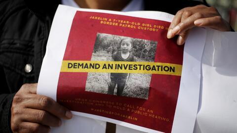 Sigue sin esclarecerse la causa de muerte de la niña guatemalteca que falleció bajo custodia de la Patrulla Fronteriza