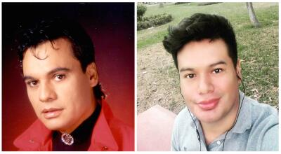 Son idénticos: a Juan Gabriel le apareció un nuevo hijo y sus fotos nos dejaron boquiabiertos