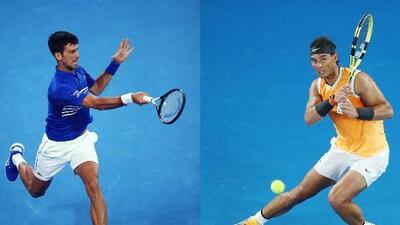 Siete años después, Djokovic y Nadal se reencuentran en la Final del Australian Open