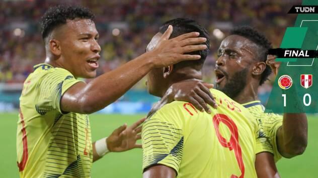 De último minuto, Colombia venció a Perú en Miami