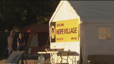 """Supervisores de Santa Clara determinarán cuántas personas pueden vivir en """"Hope Village"""" y por cuánto tiempo"""