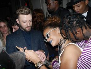 ¡Rihanna ya presume a su nuevo galán!