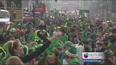 Gran celebración en Chicago por el Día de San Patricio