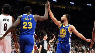 En fotos: Stephen Curry y Draymond Green acercan a los Warriors a las Finales de la NBA