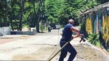 Organización sin fines de lucro inicia limpieza del túnel de Guajataca