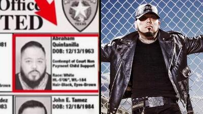 A.B. Quintanilla es uno de los más buscados del condado de Nueces, Texas, y hasta hay recompensa