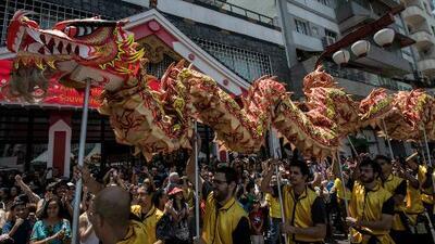 Miles de personas alrededor del mundo reciben el 'Año Nuevo chino'