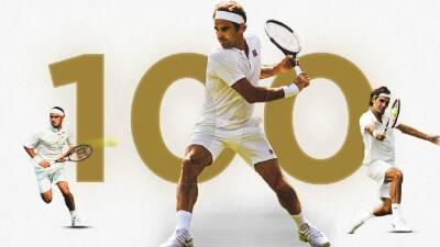 Centenario: Roger Federer se metió en Semifinales de Wimbledon y logró un histórico récord