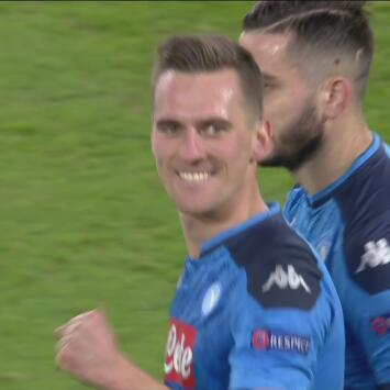 ¡Hat-trick para el polaco! Milik aumenta su cuenta y el marcador del Napoli