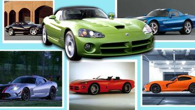 Historia gráfica del Dodge Viper