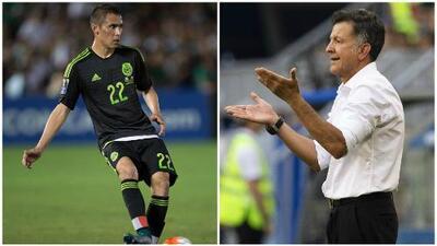 ¿Por pequeño? Aguilar confesó que Osorio prescindió de él en el Tri por su juego aéreo